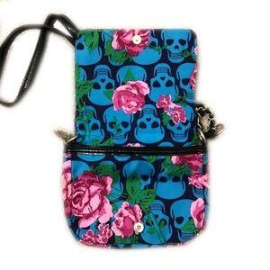 Betsey Johnson Bags - Betsey Johnson Small Mini Skull Crossbody Bag  New